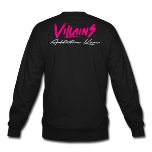 Villains Crewneck Sweatshirt - black