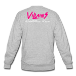 Villains Crewneck Sweatshirt - heather gray