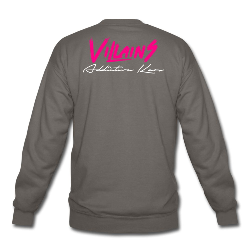 Villains Crewneck Sweatshirt - asphalt gray