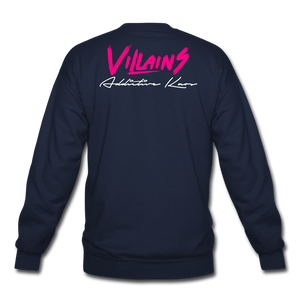 Villains Crewneck Sweatshirt - navy
