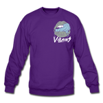 Villains Lust Crewneck Sweatshirt - purple