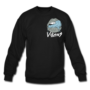 Villains Lust Crewneck Sweatshirt - black
