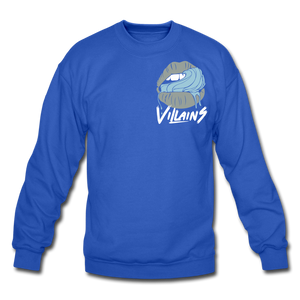 Villains Lust Crewneck Sweatshirt - royal blue