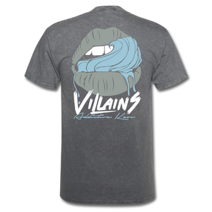 Villains Lust T-Shirt - mineral charcoal gray