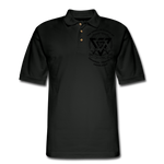 ISUPK  Polo Shirt2 - black