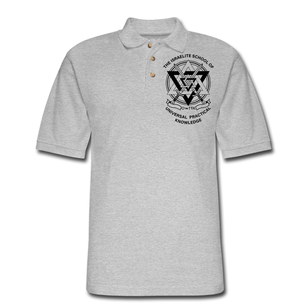ISUPK  Polo Shirt2 - heather gray