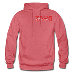 Anime 1 Adult Hoodie - heather red