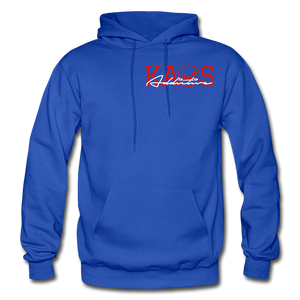 Anime 1 Adult Hoodie - royal blue