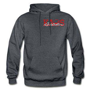 Anime 1 Adult Hoodie - charcoal gray
