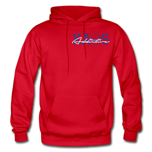 Anime 2 Adult Hoodie - red