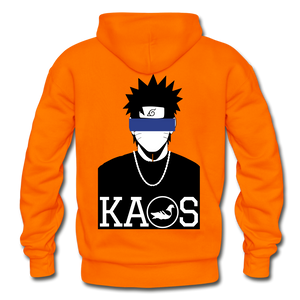 Anime 2 Adult Hoodie - orange