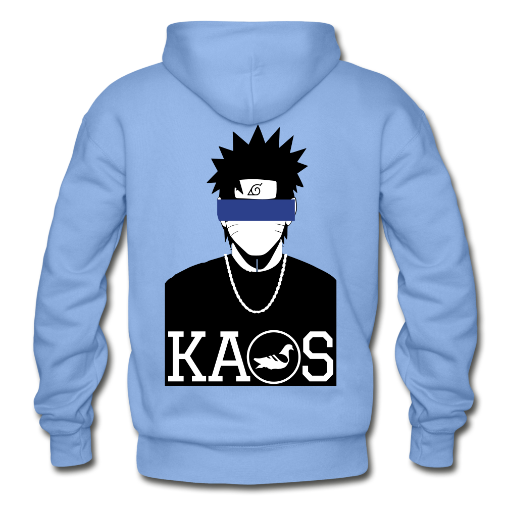 Anime 2 Adult Hoodie - carolina blue