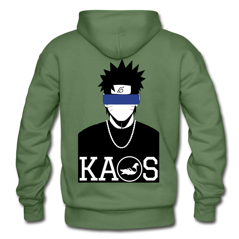 Anime 2 Adult Hoodie - military green