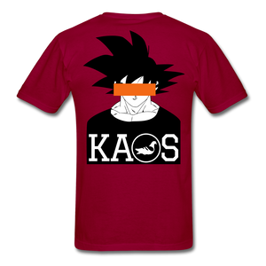 Anime 3 T-Shirt - dark red