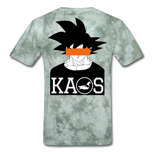 Anime 3 T-Shirt - military green tie dye