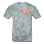 Anime 3 T-Shirt - grey tie dye
