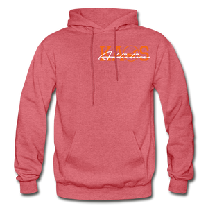 Anime 3 Adult Hoodie - heather red