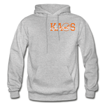 Anime 3 Adult Hoodie - heather gray