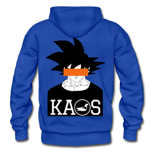 Anime 3 Adult Hoodie - royal blue