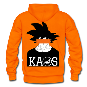 Anime 3 Adult Hoodie - orange