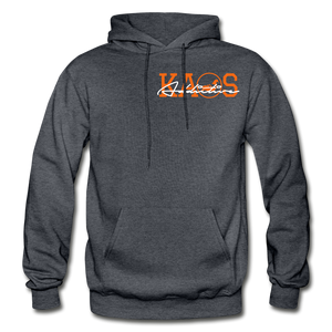 Anime 3 Adult Hoodie - charcoal gray