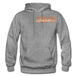 Anime 3 Adult Hoodie - graphite heather
