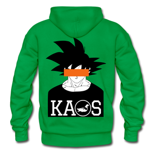 Anime 3 Adult Hoodie - kelly green