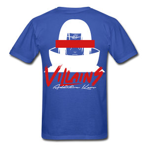 Villains Itachi T-Shirt - royal blue