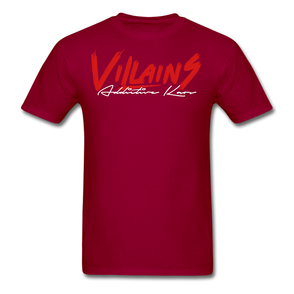 Villains Itachi T-Shirt - dark red