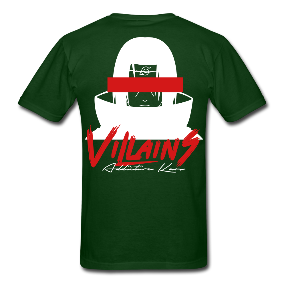 Villains Itachi T-Shirt - forest green