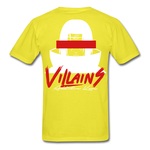 Villains Itachi T-Shirt - yellow