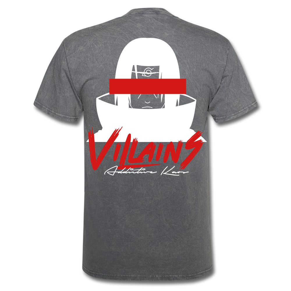 Villains Itachi T-Shirt - mineral charcoal gray