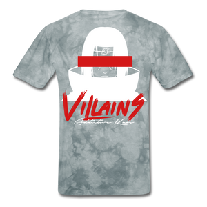 Villains Itachi T-Shirt - grey tie dye