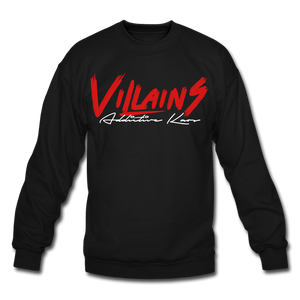 Villains Itachi Crewneck Sweatshirt - black