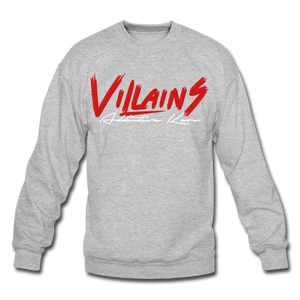 Villains Itachi Crewneck Sweatshirt - heather gray