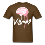Villain Brain of opp T-Shirt - brown