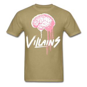 Villain Brain of opp T-Shirt - khaki