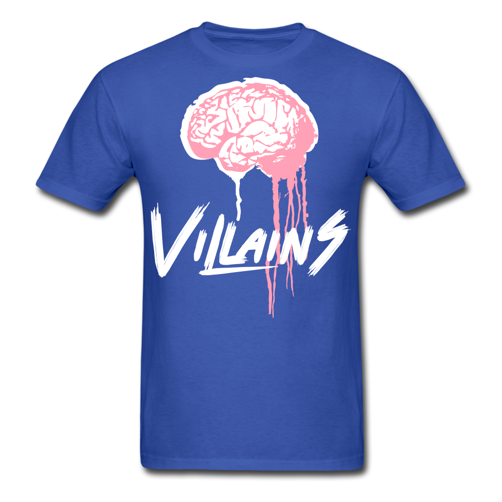 Villain Brain of opp T-Shirt - royal blue