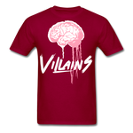 Villain Brain of opp T-Shirt - dark red