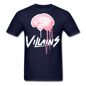 Villain Brain of opp T-Shirt - navy