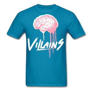 Villain Brain of opp T-Shirt - turquoise