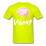 Villain Brain of opp T-Shirt - safety green