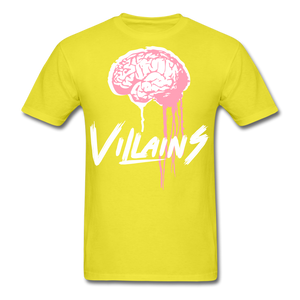 Villain Brain of opp T-Shirt - yellow