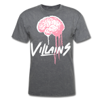 Villain Brain of opp T-Shirt - mineral charcoal gray