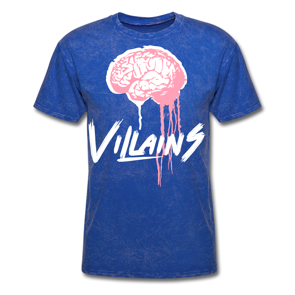 Villain Brain of opp T-Shirt - mineral royal