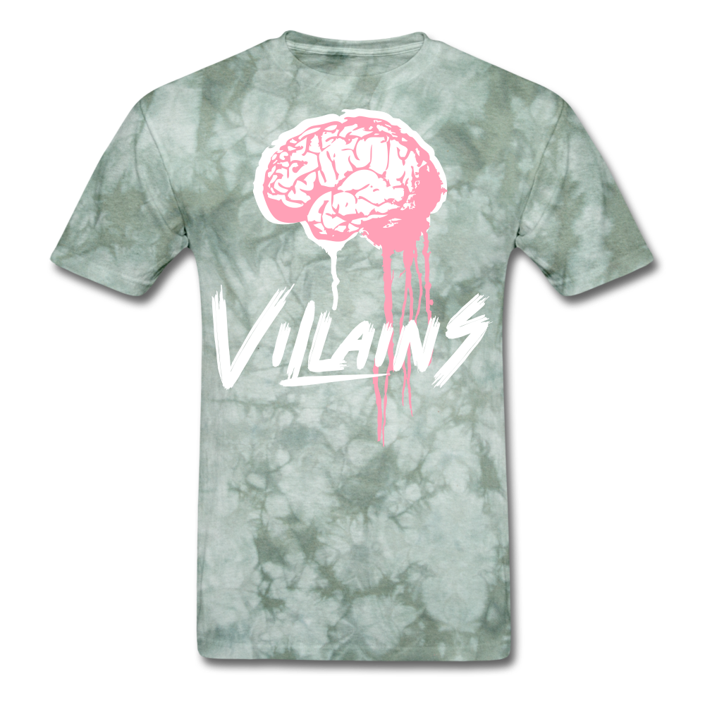 Villain Brain of opp T-Shirt - military green tie dye
