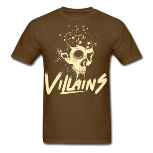 Villains Death T-Shirt - brown