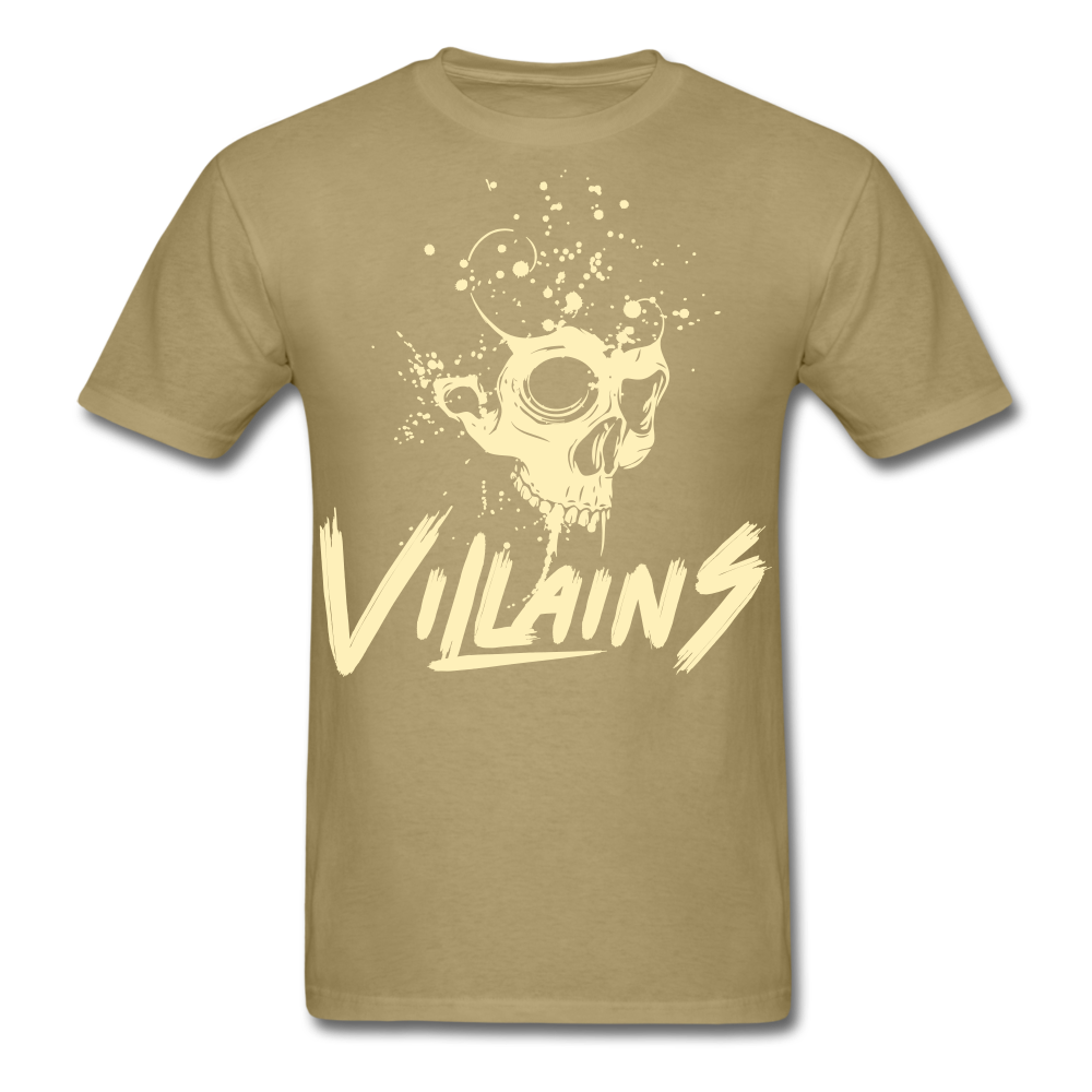 Villains Death T-Shirt - khaki