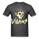Villains Death T-Shirt - heather black