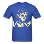 Villains Death T-Shirt - royal blue